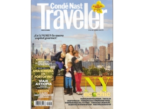 TRAVELER CONDE NAST FRONT PAGE