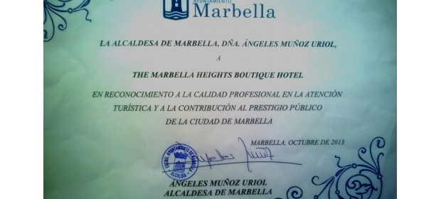 MARBELLA COUNCIL GREETING